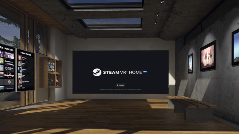 SteamVR Home Beta